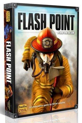 大安殿實體店面 Flash Point Fire Rescue 閃點行動 火線救援 火線赤子情 第二版 正版益智桌上遊戲