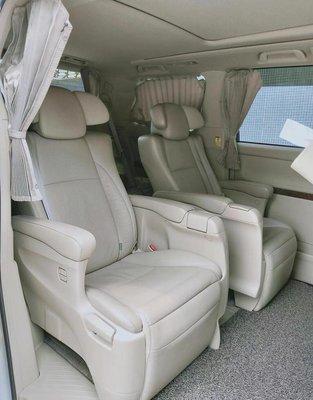 【YGAUTO】二手時間 TOYOTA 豐田 ALPHARD 日本原廠正品 二手 中排商務座椅 其他車款可升級