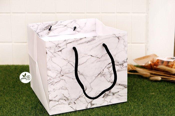 6吋紙提袋_Black_HL1864◎手提袋.紙袋.提袋.包裝袋.禮盒另購.大理石