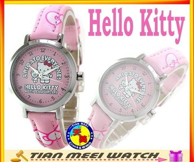 【全新原廠公司貨】【天美鐘錶店家直營】【下殺↘超低價】日本Hello Kitty錶-40週年紀念錶款 LK401L 粉紅