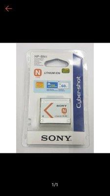 原廠平輸公司貨 SONY NP BN BN1 電池 原廠電池