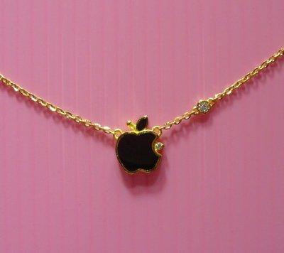 【金飾記錄】【黃金9999】∪【純金可愛蘋果套鍊項鍊135】