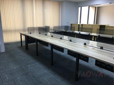【耀偉】GAMMA系統工作站 (辦公桌/辦公屏風-規劃施工-拆組搬遷工程-組合隔間-水電網路)2