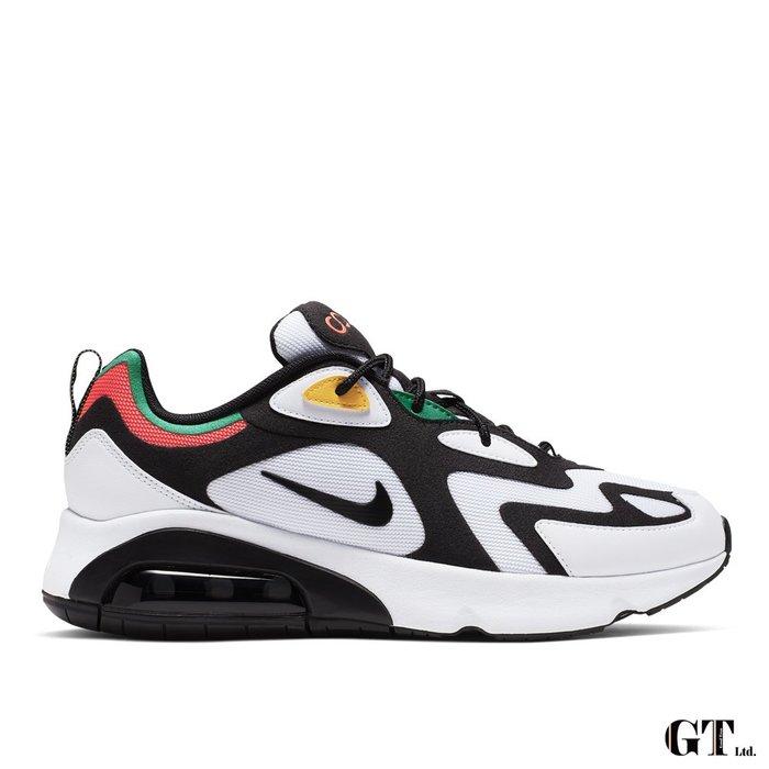【GT】Nike Air Max 200 黑 男鞋 低筒 輕量 氣墊 運動鞋 慢跑鞋 休閒鞋 AQ2568-101