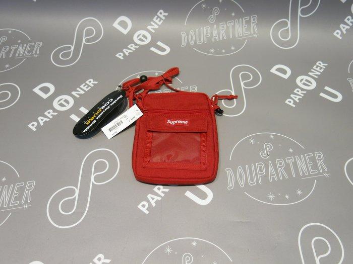 【Dou Partner】SUPREME UTILITY POUCH RED 側背包 腰包 紅色 小包 SS19B11