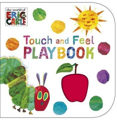 艾瑞卡爾觸摸翻翻書The Very Hungry Caterpillar Touch and Feel Playbook