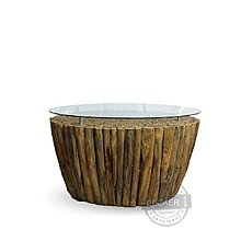 【Decker • 德克爾家飾】Vintage復古實木 印尼柚木家具 原生態森林 盤古茶几 - A款