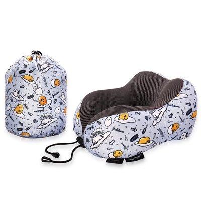 【murmur 舒壓旅行護頸枕  】蛋黃哥 灰 旅行必備、三麗鷗正版授權、頸枕、記憶海綿