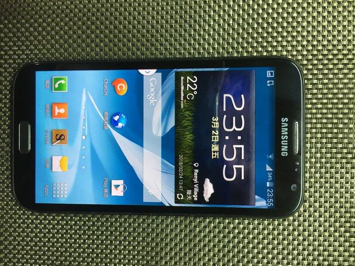SAMSUNG Galaxy Note2 N7100 四核心 16G  5.5吋黑色