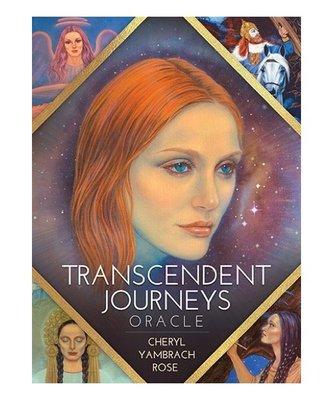 【預馨緣塔羅鋪】現貨正版超越旅程神諭卡Transcendent Journeys Oracle(全新45張)