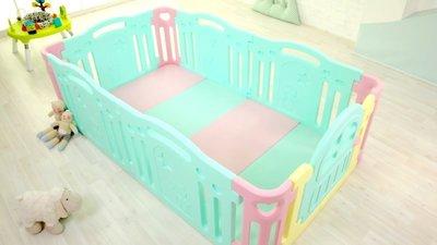 舊客優惠 韓國代購 Ifam 遊戲墊+ Ifam圍欄(6片門板) 安全地墊 爬行墊 護欄 球池 遊戲城堡