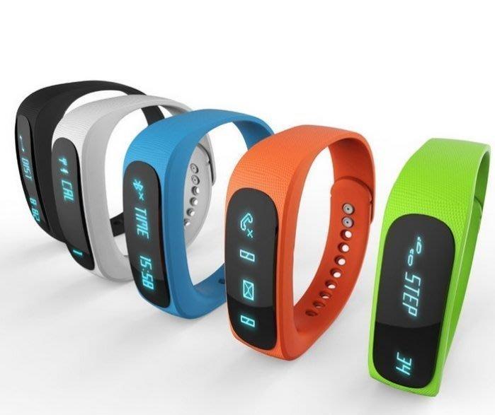 E02 智能藍 牙手環 防水手錶 安卓蘋果穿戴 睡眠監測 運動健身遙控自拍 NIKE/Android/Apple