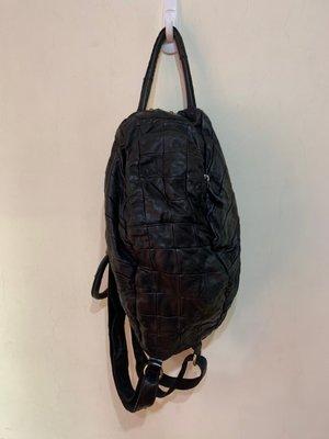 「 二手包 」 2R Ray & River 真皮手提後背包 ( 黑 ) 10