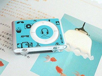 破盤價【正韓空運 iPod Shuffle 2nd 時尚保護貼 不留膠痕 My Favorite EB】*YOOWOO*