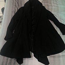 真正品ZARA設計垂墜感中長大衣 羊毛外套 原價5980元 H&M Agnes b  ICB 23區