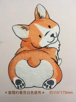 IANS 刺繡設計  狗---繡花貼布/繡花貼紙
