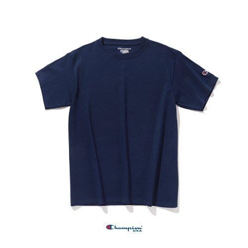 Champion T425 6.1oz 素TEE/  深藍
