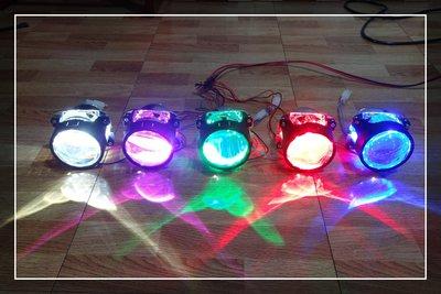 【炬霸科技】LED 內 光圈 惡魔眼 天使眼 改 魚眼 透鏡 360° P1 G6 彪虎 TIGRA BON JET S