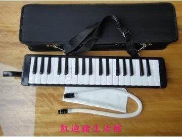 【凱迪豬生活館】黑色經典口風琴37鍵 專業演奏樂器 FIRSTON富世樂口吹琴 贈送教程KTZ-201030