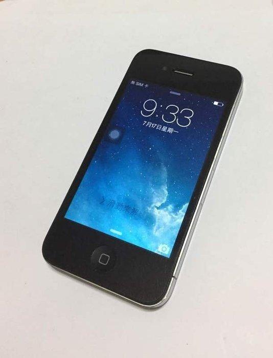 ☆手機寶藏點☆iPhone4 32G 黑 公司貨 實體拍攝 $2,500 羅a36