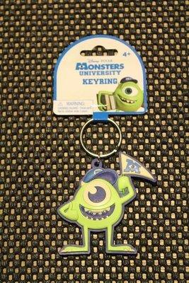 (I LOVE樂多)日本進口迪士尼 怪獸電力公司 單眼仔 麥克華司基軟膠鑰匙圈送人自用兩相宜