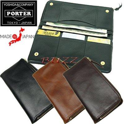 巴斯 日標PORTER屋- 三色預購 PORTER SOAK 牛革皮夾-長夾 101-06001
