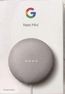 全新現貨Google Nest Mini 2智慧音箱二代智慧音箱 智能音箱 語音google助理 藍牙喇叭聲控