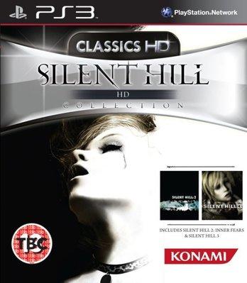 [KittyHawk] 全新未拆 PS3 沈默之丘 沉默之丘2+3 HD合輯 Silent Hill HD -英文版-
