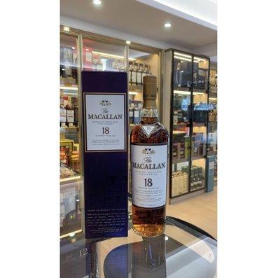 1991 The Macallan 18 Year Old Sherry Oak Single Malt Scotch Whisky