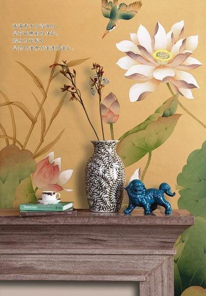 【芮洛蔓 La Romance】手繪絲綢壁紙 ZW01-031-11 / 壁飾 / 畫飾 / 牆紙