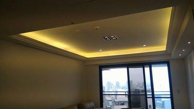 台灣矽酸鈣板6mm造型天花板3500元起/木工/裝潢/室內設計/矽酸鈣板平釘/台中智聖室內裝修設計有限公司
