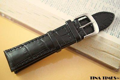 TINA TIMES~體驗巴伐利亞手工魅力_德國EULUX 牛皮鱷魚紋錶帶 防水性最佳的手工頂級錶帶