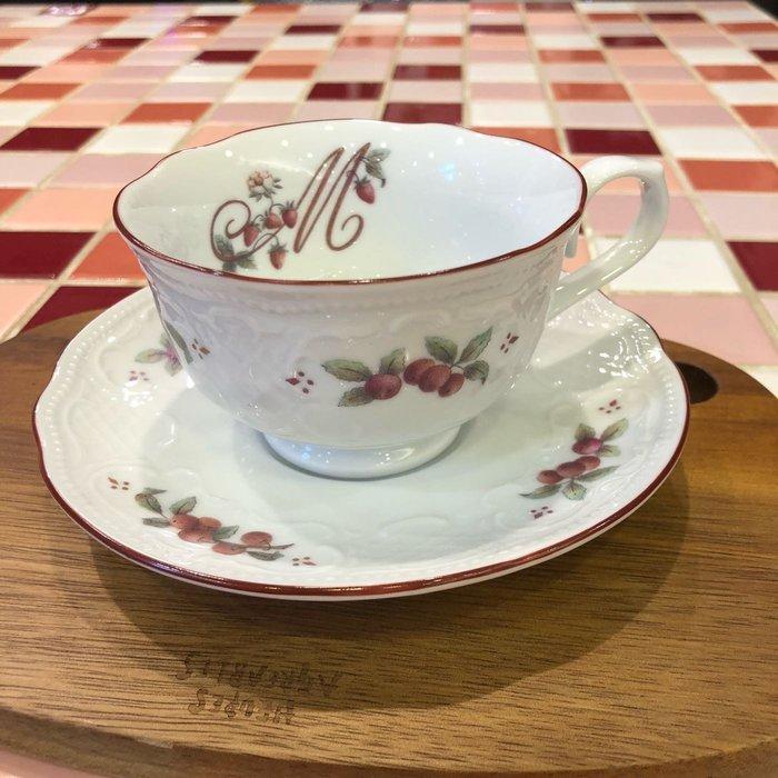 《齊洛瓦鄉村風雜貨》日本zakka雜貨 日本製職人手工製作草莓野莓系列瓷器杯盤組 咖啡杯組 下午茶組