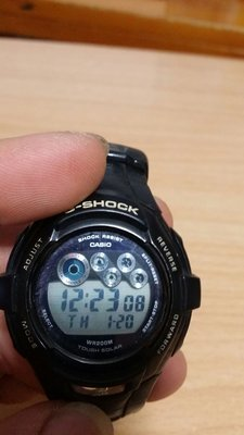 CASIO G SHOCK  G 7210 夜光唔着……