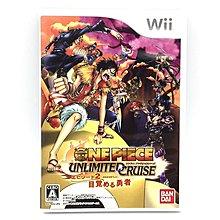 (中古) 原裝日版 Wii Game One Piece Unlimited Cruise 海賊王 冒險動作遊戲 支援雙人同樂