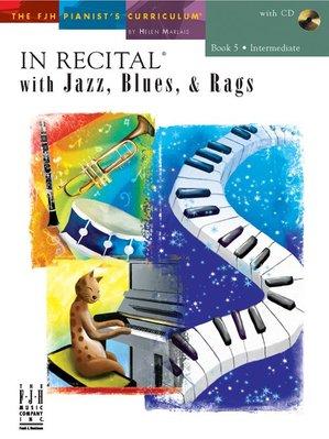 【599免運費】In Recital with Jazz, Blues, and Rags, Book 5 F1743