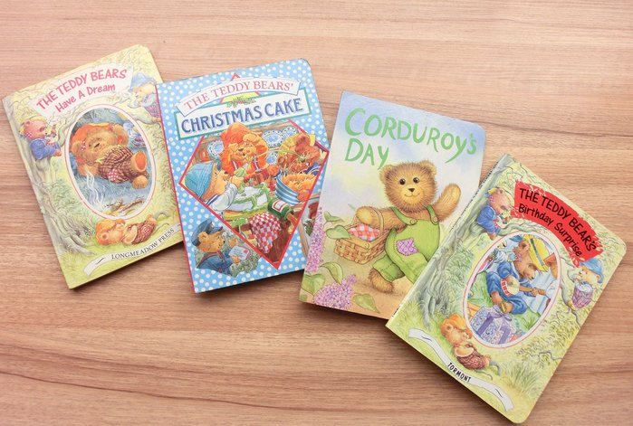 *【兒童英語繪本】*小pen~~四本可愛熊寶寶陪寶寶開心閱讀