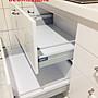 晶潔廚具,要怎麼搭就怎麼搭『進口五金blum鋁抽+blum緩衝門片』韓國石 389cm下櫃+299cm上櫃L型廚具