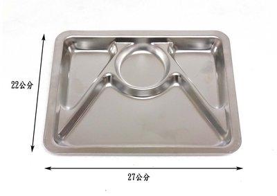 【彩虹小舖】蝴蝶牌 台灣製造 304不銹鋼 四格小餐盤
