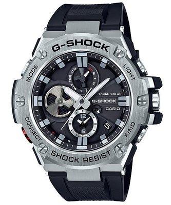 CASIO手錶公司貨G-SHOCK強悍防震太陽能電力GST-B100-1A