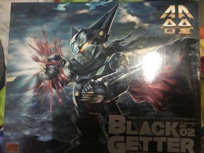 Arcadia AA alloy Shin Getter Robo Armageddon Black Getter Action Figure 黑三一萬能俠
