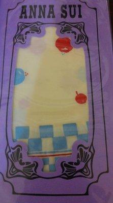 標標樂~日本ANNA SUI安娜蘇限量 ~經典造型膝下襪 關穎,王瀅風 日本製.全新有吊牌 (NO.758)