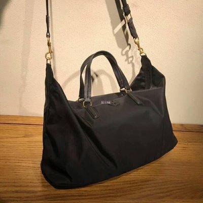 Alina 精品代購 TORY BURCH 美國輕奢時尚 新款防水尼龍旅行袋  斜背包 美國代購 三期零利率