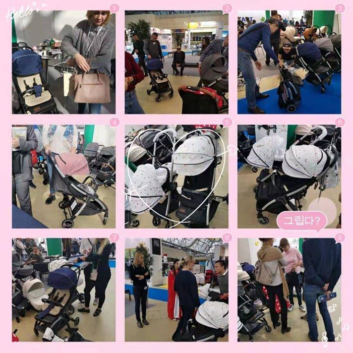 嬰兒推車輕便可坐可躺自動德國寶寶兒童推車 折疊式stroller baby