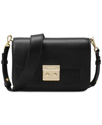 Coco 小舖Michael Kors Sloan Editor Large Shoulder Bag 黑色