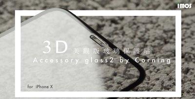 超 免運費  imos iPhone11 6.5吋 (2019) 3D美觀滿版玻璃(黑邊) 美商康寧 AG2bC