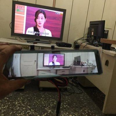 (柚子車鋪) 豐田 SIENTA 全屏 電子數位後視鏡 觸碰式 前後行車紀錄器 可到府安裝 b