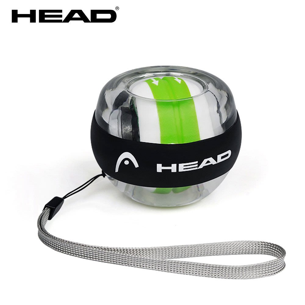 HEAD 炫彩螺旋腕力球 發光 專用腕帶 自啟金屬 止滑矽膠 免裝電 腕力訓練 抓握力 傷後復健 健身 yunmai