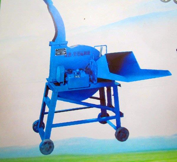 中型稻草切草機 玉米桿鍘草機 蕃薯藤切草機 花生莖/秸稈鍘草機 2.5噸切草機
