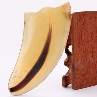 牛角刮痧板全身通用頸部家用腿部套裝臉部面部天然美容院疏通經絡 免運費